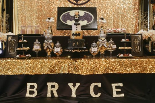 Bryce's Gotham City First Birthday Party