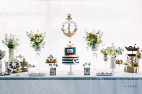 Joseph's Nautical First Birthday Party