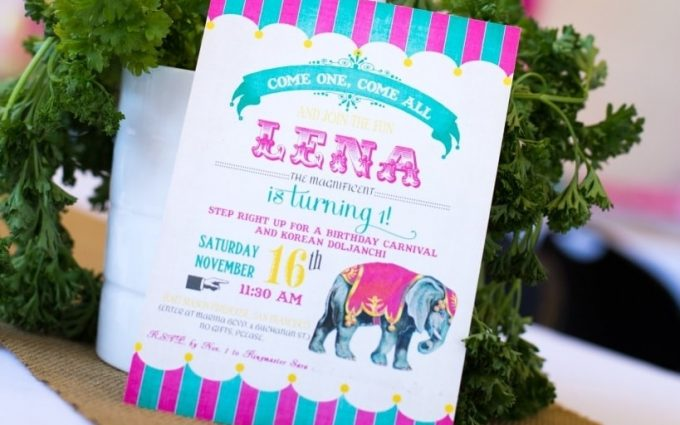 First Birthday Party Invitations And Where To Print Them