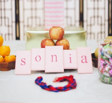 Sonia's Pink And Gold First Birthday Party