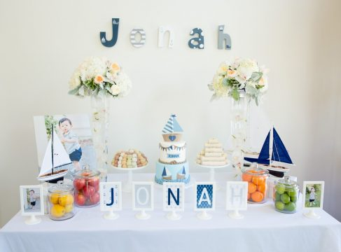 Jonah's Nautical Themed First Birthday Party