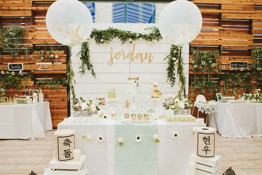 Jordan's Rustic Garden Themed First Birthday Party