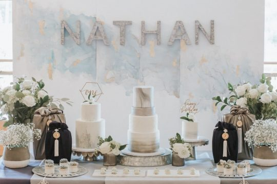 Nathan's Fusion Traditional First Birthday Party